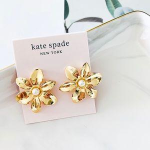 Kate Spade Bloom Flower Stud Earrings
